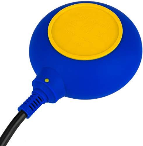 Füllstandsregler - Schwimmerschalter für Pumpe mit Gegengewicht und 3 m Kabel - Plikc - LIV 3