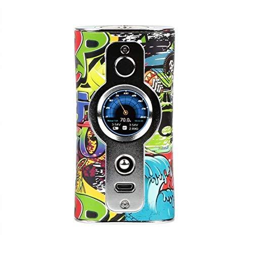 Vsticking VK530 200W TC Box Mod, Anpassen Geschmack Anpassen Hintergrund, E Zigarette Vape Kein Nikotin und Tabak (Schädel)