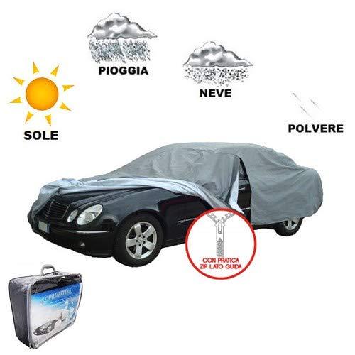 TG XL Housse de Voiture molletonnée Toyota Corolla Wagon 89 > 92 imperméable SAGOMATE Couverture Grise Anti-déchirures