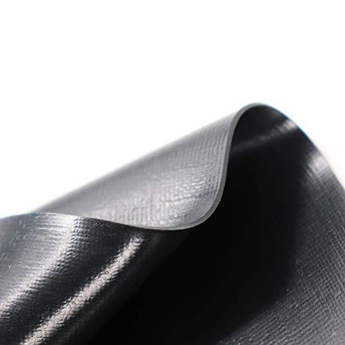 Teichfolie Gartenteichfolie 1,0mm schwarz Folie für den Gartenteich Teichbau verschiedene Abmaße … (1m lang, schwarz 2m breit) - 6