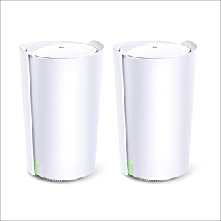 TP-Link Deco AX6600 Whole Home AI-Driven Mesh Wi-Fi 6 System, Tri-Band with Smart Antennas, MU-MIMO, Replaces Routers and ...