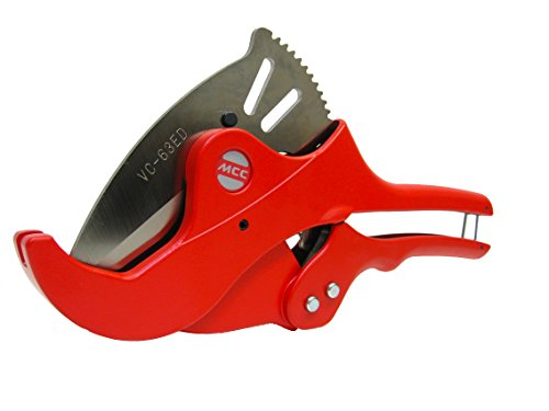 MCC - 2'' PVC / CPVC Pipe Tubing Cutter (One Hand, Quick Release) Cuts Up To (up to 2 1/2 inches) Irrigation, Plumbing & Auto