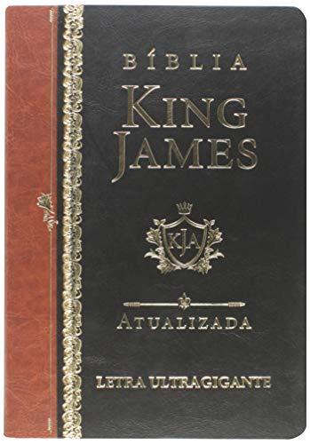 Bíblia King James Atualizada. Letra Ultragigante - Preta