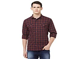 Our red and black checkered shirt is a must-have wardrobe staple. It's the perfect casual shirt for an outing with friends or a Friday at work with its dual flappockets, curved hemline and comfortable fit. Strength stitched for durability. 100% pure ...