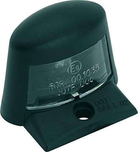 AMAS The Best LUCE Kennzeichenmotor mit Lampe W5W 12 Volt 5 Watt im Lieferumfang enthalten (schwarz)