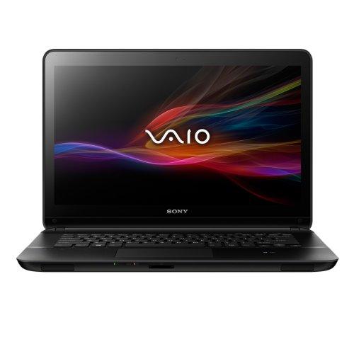Sony VAIO SVF1521J1E 15.5-inch SuperMulti Drive Laptop (Black) - (Intel Core i3 1.9GHz, 4GB RAM, 750GB HDD, DVD, Windows 8)