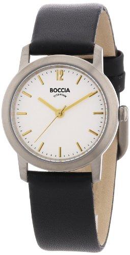 Boccia Damen-Armbanduhr Leder 3291-02