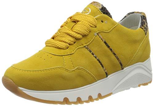 Tamaris Damen 1-1-23704-34 Sneaker, Gelb (Sun Comb 687), 41 EU
