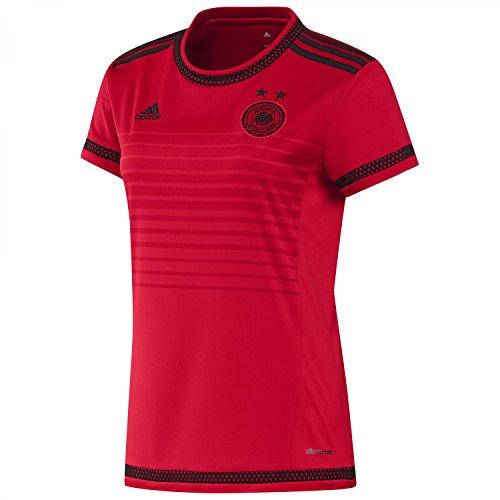 adidas, DFB-Trikot für Damen, Auswärtstrikot Deutschland, Damen, Scarle/Red/Black, M