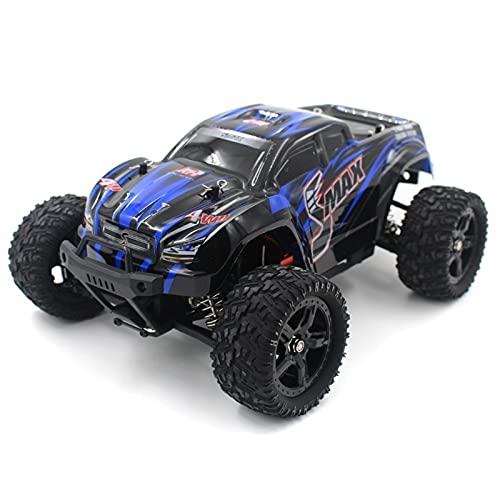 SFOOS Vehículo 4WD RC Terreno de Alta Velocidad 1:16 Escala Bigfoot 2.4G RC Coche Cepillado Cepillo Competitivo Off-Road Modelo de Juguete, Niño Navidad Control Remoto Toy Coche Regalo