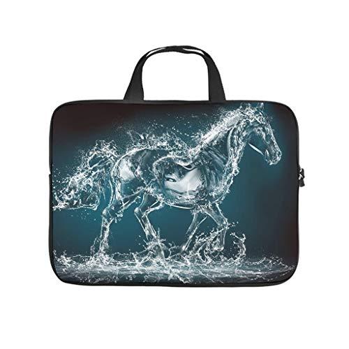 Funda para portátil con diseño de caballo acuático, a prueba de polvo