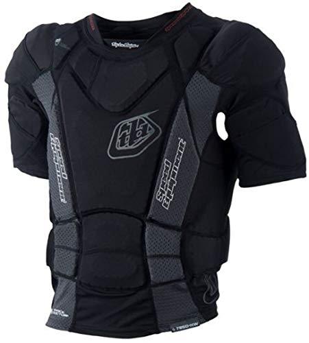 Troy Lee heißem Wetter kurzärmliges Shirt UPS 7850, Schwarz (2015) schwarz schwarz L