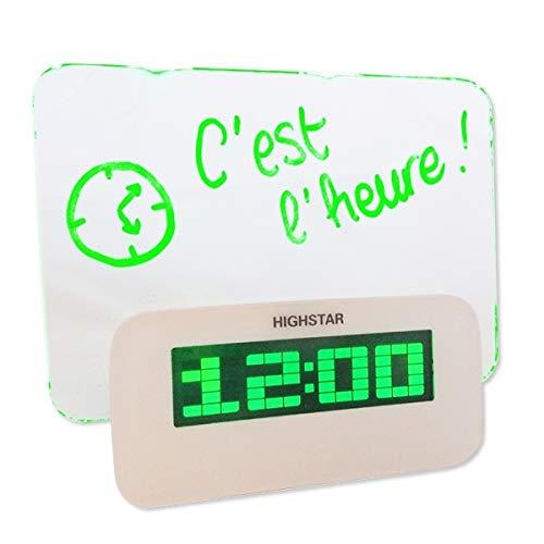 Eurowebb Réveil pense-bête lumineux, LED message lumineux