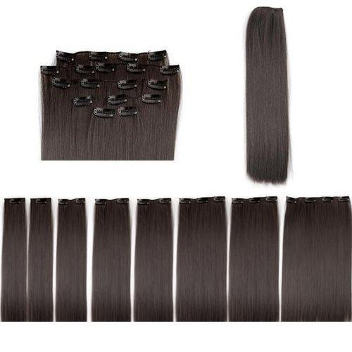 FACILLA® 8 X Extension A Clips De Cheveux Fibre 20\