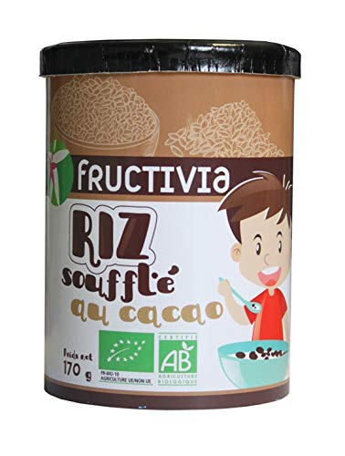 Riz soufflé au cacao Bio pot 170g