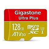 Gigastone Speicherkarte, MicroSD Karte 128GB U3 A1 V30 4K Full HD Video für Kameras, Dashcam,...