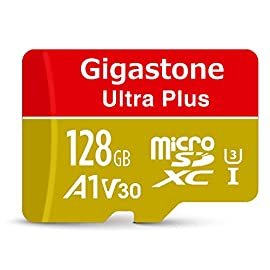 Gigastone 128GB Micro SD Card, A1 V30 Run App for Smartphone, UHD 4K Video Recording, High speed 4K Gaming 100MB/s, Micro SDXC UHS-I U3 C10 Class 10 Memory Card with Adapter 9 <p> Read/Write up to 95/30 MB/s, V30 speed grade, Ultra HD (UHD) 4K video recording, UHD 4K gaming. A1 grade provides faster App loading performance for Smartphone & Tablet. Expand smartphone internal storage space. Run App on Micro SD card. 5 Micro SD Card, 5 Micro SD to SD Adapter, 5 Mini Case Storage expansion for Laptop, Tablet, PC, Smartphones, Camera, DSLR, Dash Cam, Camcorder, Surveillance, e-Reader, Drone, Gaming. Files, Videos, Music. Compatible with Nintendo Switch GoPro Andoroid Samsung Canon Nikon Gigastone 5-year limited warranty + 2-year data recovery guaranteed</p>