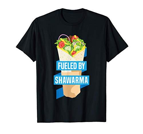 Lustiges Shawarma Sandwich-Wickeltuch aus dem Nahen T-Shirt