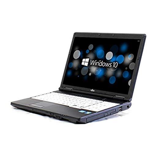 【Microsoft Office 2010搭載】【Windows 10搭載】テンキー付 富士通 A572/E★第二世代 Core i3/メモリ4GB/250GB/WIFI/USB3.0/HDMI/中古ノートパソコン