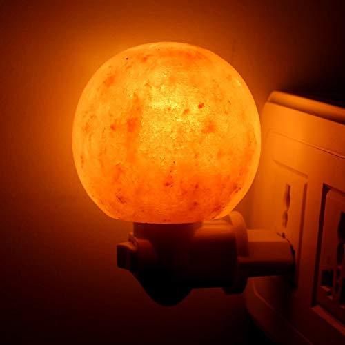 nulala himalaya natürliche steinsalz lampe stecker in nachtlicht led 7-farbige wandleuchte salz kristall lampen natürliche form dekorative nachttischlampe