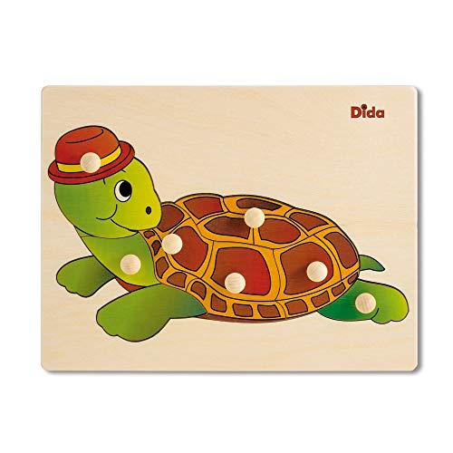Dida   Puzzles Infantiles Madera   Tortuga