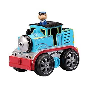 Kid Galaxy Soft Body Friction Powered Train w/Moving Figure