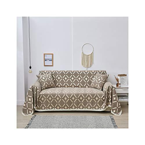 MICOLOD Cubierta DE Sofa Cubierta DE Europa DE Europa Funda Universal para la Sala de Estar Protector de Muebles Cubierta de sofá Sillón Sofá Toalla Gruesa Forma de poliéster l