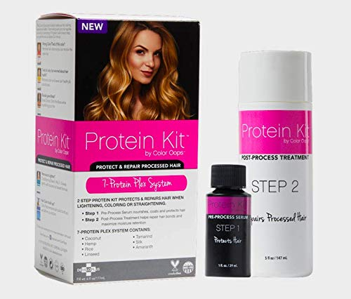 Color Oops Protein Kit | 2 Step Process to Protect & Repair Damaged Hair