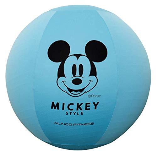 ALINCO(アルインコ) ディズニー ミッキー エクササイズボール 65cm カバー付き (洗濯可 滑り止め付き) DSY125MC