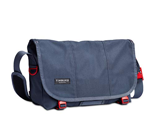 Timbuk2 Flight Classic Messenger Bag, Granite/Flame, S