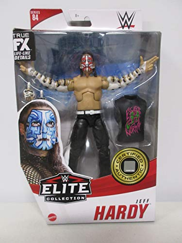 WWE Jeff Hardy Collection Series 84 Wrestling Action Figure (Red Face Paint Chase Variant)