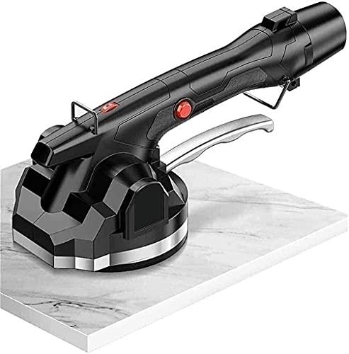 JLTX Azulejo, kakelmaskin - Vibrerande maskin - Elektriskt verktyg för automatisk golvläggning - Maximal adsorption 200 kg - plattor för golv och klädsel (storlek: 1xlithium batterier)