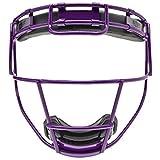 Schutt Fielder's Guard Softball Face Mask for Fast Pitch Softball, Purple, Youth