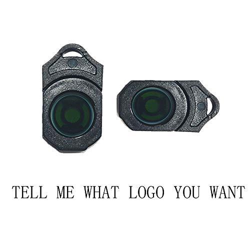 MIVISO 2 piezas Puerta de coche Logo Led Proyector Luz L/ámpara inal/ámbrica Bienvenido Ghost Shadow Light actualizado sin im/án
