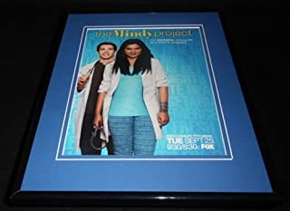 The Mindy Project 2012 Premiere Framed 11x14 ORIGINAL Advertisement Mindy Kaling