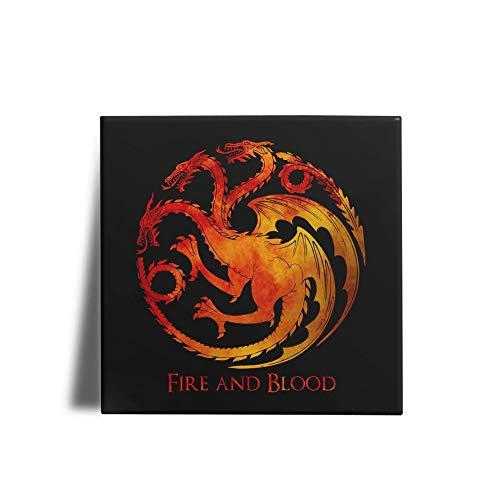 Azulejo Decorativo GOT Fire And Blood