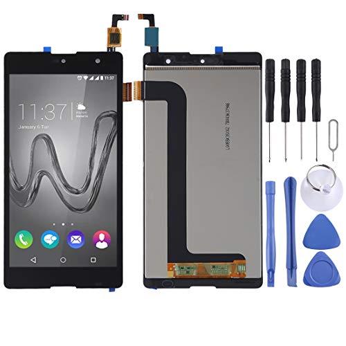 DINGGUANGHE-CELL PHONE ACCESSORIES Excelentes Piezas de Repuesto Compatible con Wiko Robby Pantalla LCD y digitalizador Asamblea...