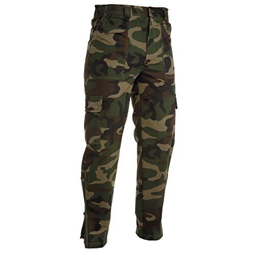 CHEMAGLIETTE! Pantalone Uomo da Lavoro Caccia Pesca Camouflage Mimetico Softair Payper USAIR