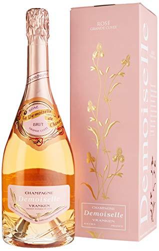 Demoiselle Grande Cuvée Brut Rosé in Geschenkpackung