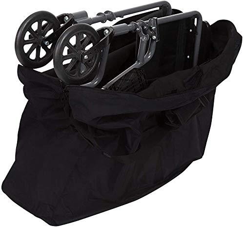 Extra Rollator Reisetasche für Faltwandler, kompaktes Rollstuhlpaket Wasserdichte Aufbewahrungstasche Tragbare große Tragetasche