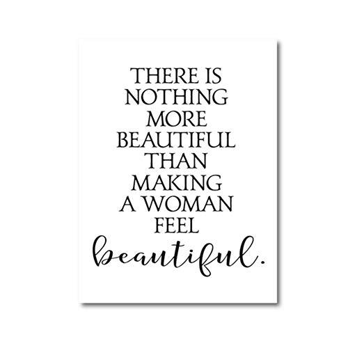 Decoración de salón de belleza, letreros de peluquería, arte de pared, lienzo para pintar, póster, póster de pestañas, decoración de spa, regalo de peluquería sin marco, 50 x 70 cm
