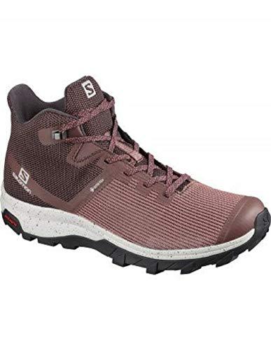 SALOMON Calzado Medio Outline Prism Mid GTX, Zapatillas de Senderismo Mujer, PE, 39 1/3 EU