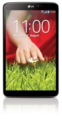 LG G Pad 8.3 Tablet ( 21 cm (8,3 Zoll) Full HD IPS Display, 1,7GHz Quad-Core Prozessor, 2GB RAM, 16GB interner Speicher, WiFi, Android 4.2.2) schwarz