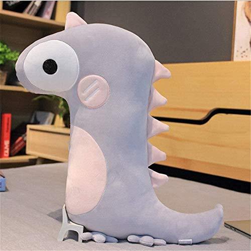 Nordic Dinosaur Software Cojín de Cama de Juguete de Felpa Decoración Creativa Regalo para niños 46-60cm