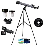 Galileo 600mm x 50mm Astronomical/Terrestrial Telescope Kit