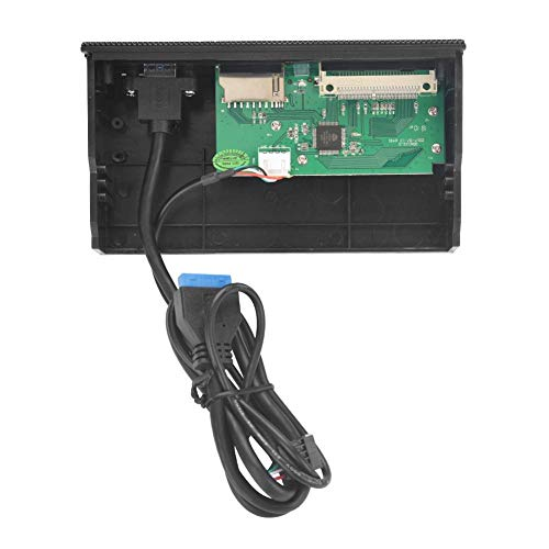 Diyeeni Internal Card Reader, STW PC Internal Card Reader USB 3.0 Port M2 SD MS XD CF TF Card Front Panel Compatibel met M2, MSO, SD, MS, XD, 64G CF Card