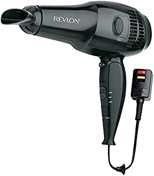 Revlon 1875W Full Size Travel Hair Dryer with Retractable Cord