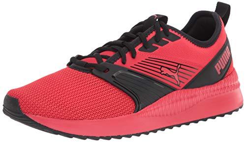 PUMA Men's Pacer Sneaker, High Risk Red Black 12 M US