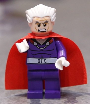LEGO Super Heroes Minifigur MAGNETO NEU NEW aus 76022