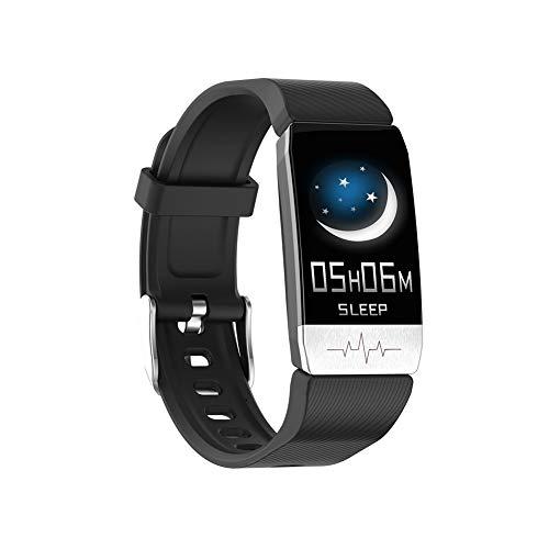 Spachy Relojes Deportivos Bluetooth, Relojes Inteligentes a Prueba de Agua Reloj Pulsera Inteligente Pulsera Monitor de Ritmo cardíaco Rastreador de Ejercicios para Mujeres y Hombres